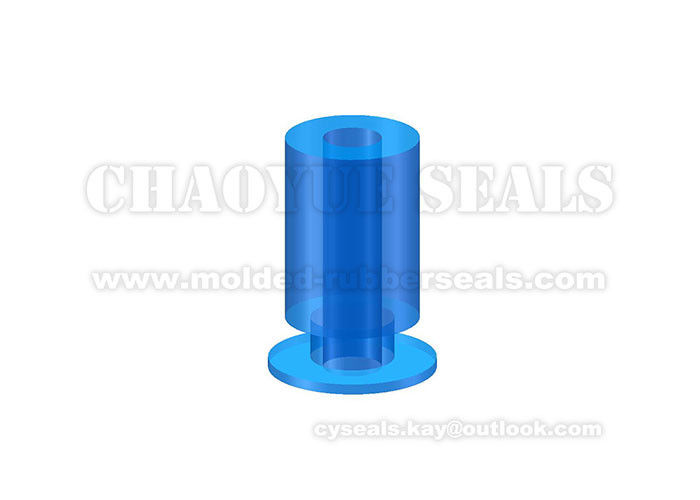 Industrial Equipment Rubber Suction Cups High Tear Strength Transparent