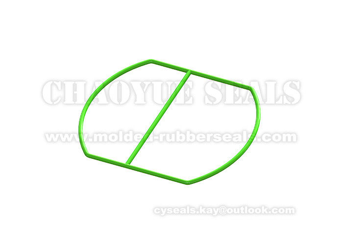 EPDM Rubber Gasket Washer Seal Acid Resistance For Industrial Equipment