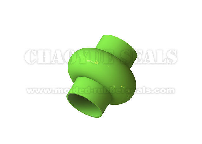 Symmetrical Shape Rubber Bellow Seal FDA Frade 100 mm For Powder Construction Machinery
