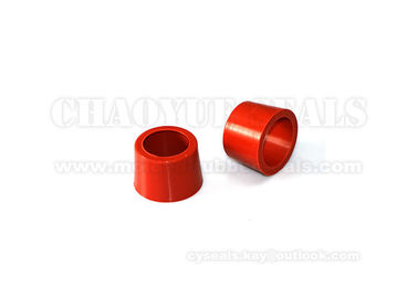 Orange Nitrile NBR Rubber Sleeve Bushing For Bag Dest Pelletizing System