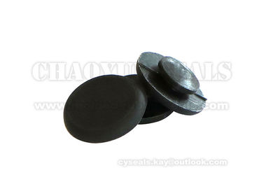 Medical Industry Rubber Bumpers Black Frost Surface High Temperature Resistance