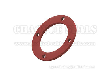 Silicone Flat Rubber Sealing Washers  , Anti Oxidation Soft Rubber Gasket