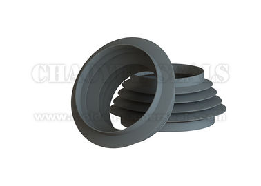 Black Nitrile Buna N Custom Rubber Bellows Oil Resistance For Papermaking Equipment
