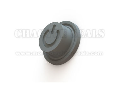 DN 10 mm Black Color Silicone Push Button Cover For Power Key Switch